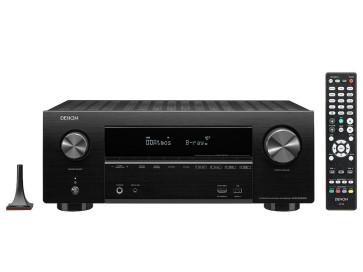 Denon AVR-X2500H  7x185W namų kino stiprintuvas tinklinis resyveris 4K DR10 ir HLG; ir 8 HDMI in/2 out su HDCP 2.2 palaikymas visoms jungtis. Transliavimas Spotify®, Pandora®, Tidal HEOS įmontuoas Amazon Alexa balso valdymas | Nemokamas Pristatyma