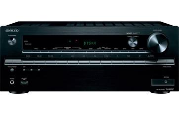 Namų kino stiprintuvas ONKYO TX-NR747 7.2 resyveris 7x175W  DTS:X Dolby Atmos® Ultra HD USB bluetooth  tinklo grotuvas interneto radijas nemokamas pristatymas
