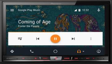"""Automagnetola Pioneer AVH-X8700BT 7"""" lietimui jautrus multimedia grotuvas Apple CarPlay Android Auto Bluetooth"""