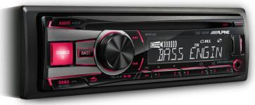 Auto magnetola ALPINE CDE-181R/RR/RM 4x50W CD USB