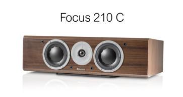 Kolonėlės Dynaudio Focus 210C 500W