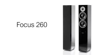 Kolonėlės grindinės stereo Dynaudio Focus 260 500W kaina už 2 vnt.