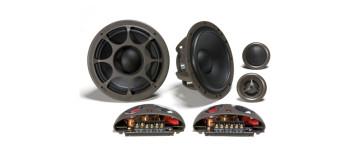 Morel Hybrid Ovation 5.2 Komponentai 13cm 2jų juostų