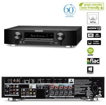 Namų kino resyveris Marantz NR1604 7X90W stiprintuvas HDMI Airplay iPhone iPad iPod tinklo grotuvas interneto radija