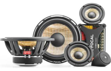 Focal PS 165 F3 komponentai garsiakalbiai 16,5 cm 3 juostų komponentai 2x160W kaina už komplektą