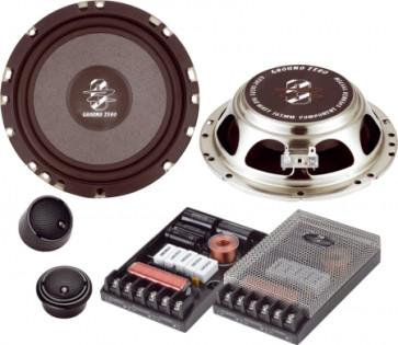 Ground Zero Radioactive GZRC 165FX 16,5 cm. 2 juostų komponentiniai garsiakalbiai 160W