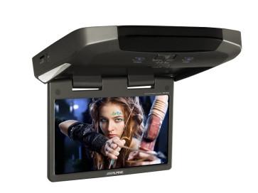 """Lubinis monitorius ALPINE TMX-310U media grotuvas USB SD 10.2"""" plačiaekranis WVGA LCD"""