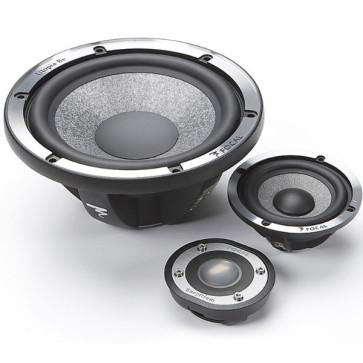 FOCAL UTOPIA Beryllium Kit N°7 Active komponentai garsiakalbiai 16,5 cm 3 juostų komponentai 2x200W kaina už komplektą