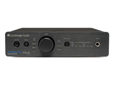 Cambridge Audio DacMagic Plus skaitmeninis analoginis keitiklis (juodas)