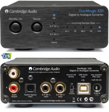 Cambridge Audio DacMagic 100 juodas