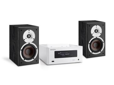 Denon Stereo sistema DRAN-4 stiprintuvas 2 x 40 W lentyninės kolonėlės SPEKTOR 2 HS Speciali kaina | Nemokamas pristatymas