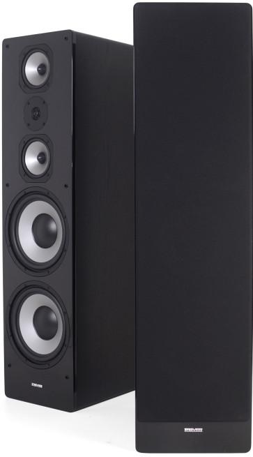 Dynavoice M-105 EX (v.4) grindinės garso kolonėlės trijų juostų su 25cm. žemo dažnio garsiakalbiais 600W kaina už 2 vnt. | nemokamas pristatymas