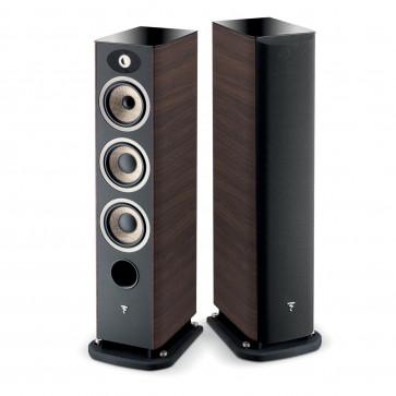 Focal ARIA 926 Hi-End garso kolonėlės grindinės 250W kaina už 1 vnt. spalva riešutas | nemokamas pristatymas