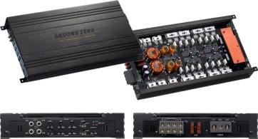 Automobilio garso stiprintuvas Ground Zero Titanium GZRA 4230 max 920W 4-rių kanalų