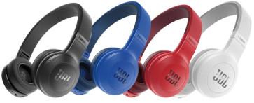 JBL E45BT belaidės Bluetooth ausinės su mikrofonu 16 valandų grojimas iš baterijos per 2 valandas pilnas baterijos pakrovimas nemokamas pristatymas
