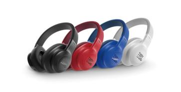 JBL E55BT belaidės Bluetooth ausinės su mikrofonu 20 valandų grojimas iš baterijos per 2 valandas pilnas pakrovimas nemokamas pristatymas
