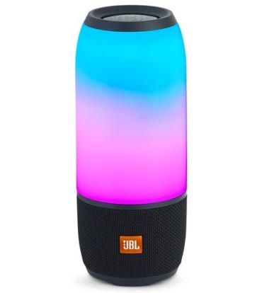 JBL PULSE 3 kolonėlė garso belaidė nešiojama Bluetooth LED apšvietimas ir efektai atspari drėgmei su stiprintuvu 20W | nemokamas pristatymas