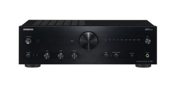 ONKYO A-9150 2.1 stereo garso stiprintuvas 2x60W su AKM's premium 768 kHz/32-bit (AK4452) integruoti DAC | nemokamas pristatymas