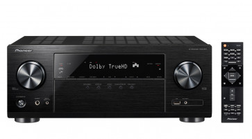 Pioneer VSX-831 5.1-kanalo namų kino stiprintuvas resyveris, tinklo grotuvas 5x130W 4k Ultra HD, WiFi ir  Bluetooth
