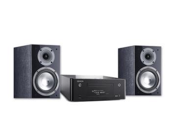 Denon Stereo sistema RCDN-9 stiprintuvas 2 x 65 W lentyninės kolonėlės SP 206 Speciali kaina | Nemokamas pristatymas