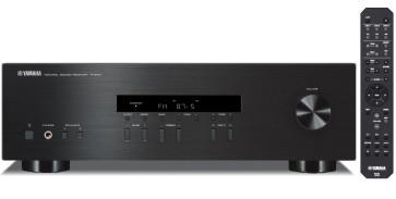 Yamaha R-S201 stereo stiprintuvas resyveris 280W dviejų zonų, radio imtuvas AM/FM