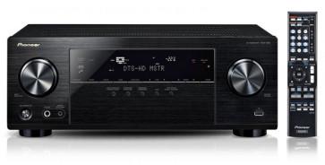 Namų kino stiprintuvas resyveris Pioneer VSX-830 5.2 5x140W tinklo grotuvas HD 4K AirPlay Spotify Bluetooth