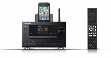 Pioneer XC-HM81-K tinklinis bevielis stereo stiprintuvas resyveris 100W USB AirPlay Iphone Ipod Ipad Android