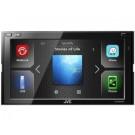 """JVC KW-M540BT grotuvas 6,8 colių lietimui jautriu ekranu (6,8 """"WVGA) ir įmontuota"""" Bluetooth """"(R) bevielio ryšio technologija ir WebLink palaikymu (waze navigacija, YouTube).   Nemokamas Pristatymas"""