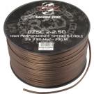 GROUND ZERO GZSC 2-2.50 Kolonėlių pajungimo laidai 2 x 2.50 mm² Kaina už 1 m