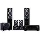 DENON AVR-X1300W + RAPTOR 5/MINI/VOCAL/SUB-10 namų kino sistema 5,1, nemokamas pristatymas