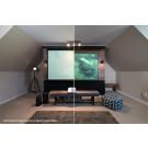 Elite Screens Aeon - Starbright (Edge Free) projektoriaus ekranas CLR - 266,4 x 150,1 - 16:9 | Nemokamas Pristatymas