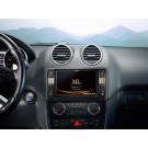 Alpine X800D-ML multimedijos centras magnetola automobiliui Mercedes GL ir ML