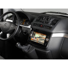 Alpine X800D-V multimedijos centras magnetola automobiliui Mercedes Vito ir Viano