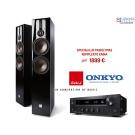 Stereo sistema Onkyo TX-8270 stereo 2.1 stiprintuvas resyveris 2x240W su DALI OPTICON 6 Grindininė kolonėlės 200w | nemokamas pristatymas