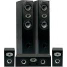 ELTAX EXPERIENCE HCP garso kolonėlių komplektas 5.0 2xGrindinės/2xLentyninės/Centrinė