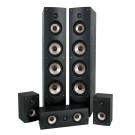 ELTAX MONACO HCP garso kolonėlių komplektas 5.0 2xGrindinės/2xLentyninės/Centrinė