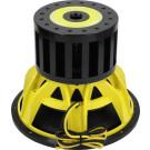 Ground Zero GZPW 15NEO-SPL Pure Competition žemų dažnių garsiakalbis 38cm 20.000W 2x1 Ohm automobiliui ypač aukštas garso spaudimas 91.42 SPL