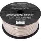 Ground Zero GZSC REF 2.5S-OFC varis +50% sidabro padengimas | garso kolonėlių pajungimo laidas 2 x 2.50 mm² Kaina už 1m