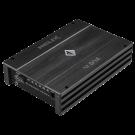 Helix M ONE stiprintuvas D-Klasė RCA nuotolinis valdymas ADEP Start/Stop funkcija  RMS Galia 1 x 600 / 1,200W dažnių juosta 10 Hz - 250 Hz | Nemokamas Pristatymas