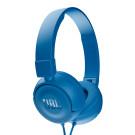 """JBL T450 ausinės laidinės su mikrofonu JBL firminis """"Pure Bass"""" garsas, juodos, baltos ir mėlynos nemokamas pristatymas"""