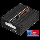 HELIX MATCH M 5DSP itin mažas automobilinis garso stiprintuvas 5-kanalų su integruotu 7-kanalų DSP 320W