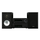 ONKYO CS-N1075 stereo tinklinė garso sistema su kolonėlėm CD grotuvu AirPlay Google Cast WiFi
