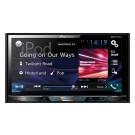 """Pioneer AVH-X5800DAB 2-DIN AV multimedija su 7"""" ekranu, Bluetooth, nemokamas pristatymas"""