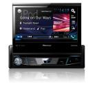 """Pioneer AVH-X7800BT magnetola automobiliui multimedijos sistema su 7"""" ekranu 1-DIN Bluetooth"""