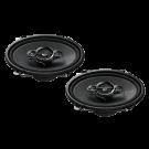 Pioneer TS-A6834i garsiakalbiai automobiliui  koaksaliniai 3 juostų 350W 14.5x20.4cm kaina už 2 vnt