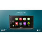 "Automagnetola Pioneer SPH-DA120 6.2"" lietimui jautrus ekranas GPS Bluetooth Apple CarPlay AppRadio"