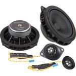 Ground Zero GZCS 100BMW-A 100W komponentinė 2-juostų garsiakalbių sistema automobiliui, nemokamas pristatymas