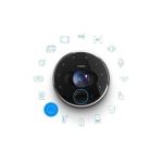 Fibaro Intercom Išmanioji skambučio į duris kamera Wi-Fi Full HD kamera ultra platus objektyvas garsiakalbis bei mikrofonas | Nemokamas Pristatymas