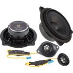 Ground Zero GZCS 100BMW-B 100W komponentinė 2-juostų garsiakalbių sistema automobiliui, nemokamas pristatymas