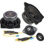 Ground Zero GZCS 100BMW-C100W komponentinė 2-juostų garsiakalbių sistema automobiliui, nemokamas pristatymas